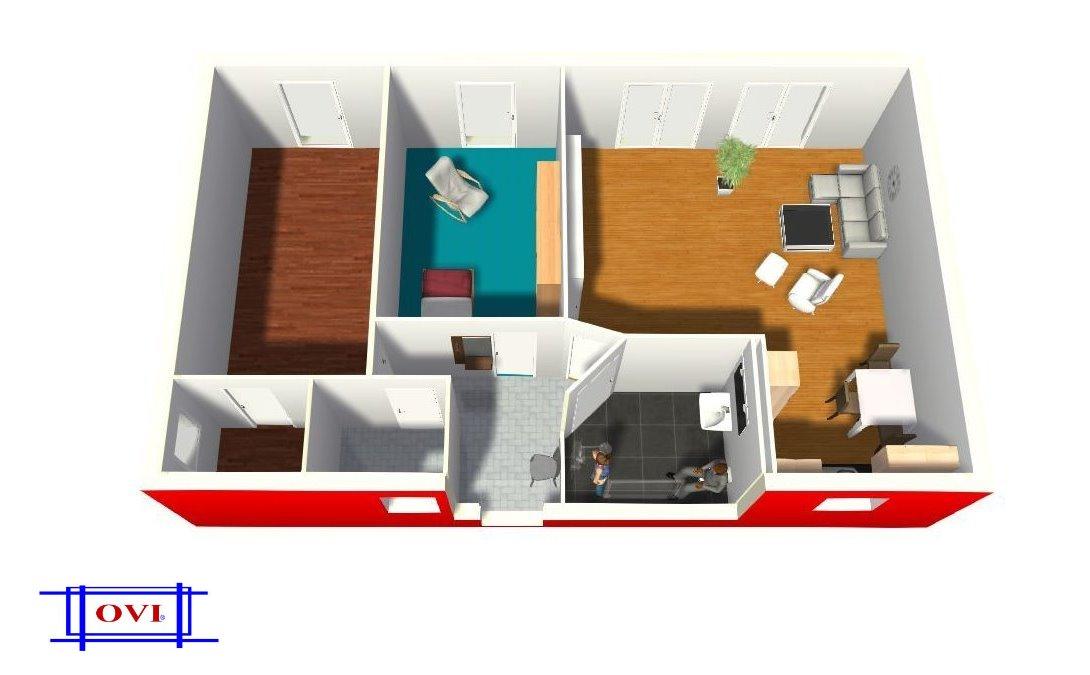 modulhaus ovi nur haus prototypen modulbau wohn container mobiles wohnen suchen skeletthaus. Black Bedroom Furniture Sets. Home Design Ideas